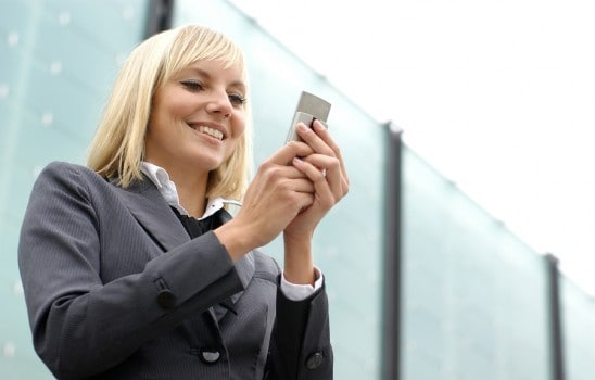 Tömeges SMS-küldés, mobil applikáció